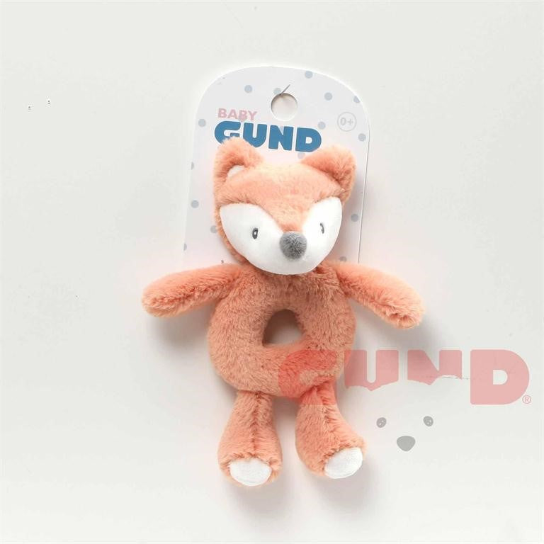 Baby Gund - Toothpick Fox Rattle - 7.5""