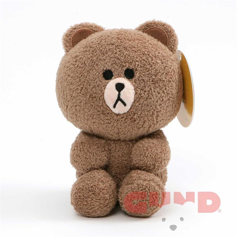 Gund - Line Friends - Brown Seated - 7""