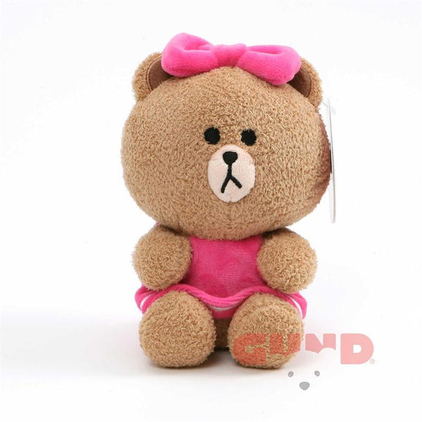 Gund - Line Friends - Choco Seated - 7""