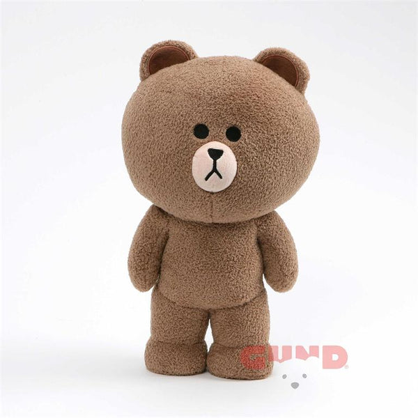 Gund - Line Friends - Brown Standing - 14""