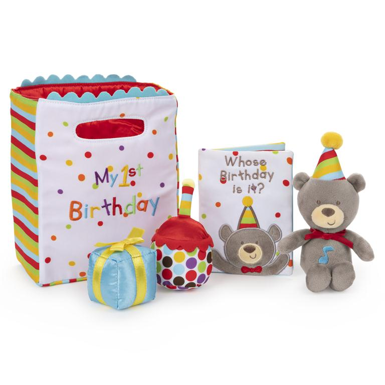 Baby Gund - My First Birthday Playset - 8""