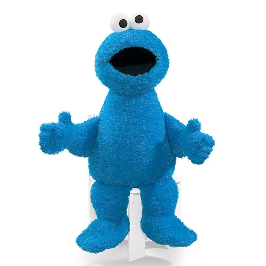 Gund - Sesame Street - Cookie Monster Jumbo - 37""