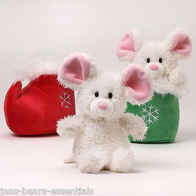 Gund - Mr. Jingles Mouse in Boot  - 7""