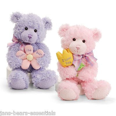 Gund - Mother's Day Message Bears - 10""