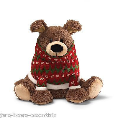 Gund - Peppermint Bark Dog - 10""