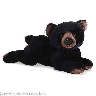 Gund - GUNDimals - Black Bear Beanbag - 7""