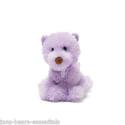 Gund - Gund Girls - Chic Pets - Purple Beanbag Dog - 5""