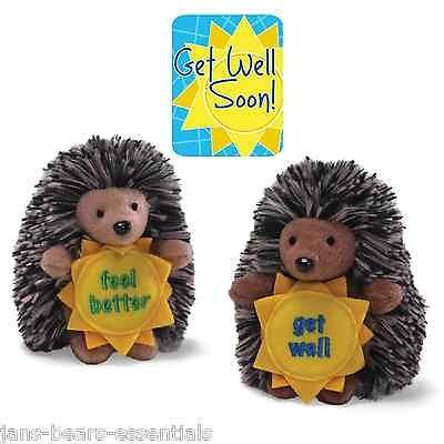 Gund - Qwilly the Porcupine - Get Well - 3""