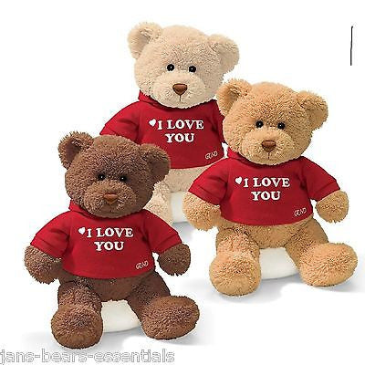Gund - I Love You Bear -  12""