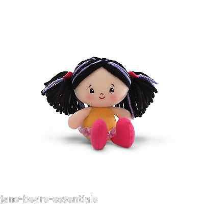 Gund - Gund Girls - Hailey, Black Haired Doll - 5""