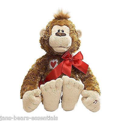 Gund - Malin Monkey - Animated - 12""
