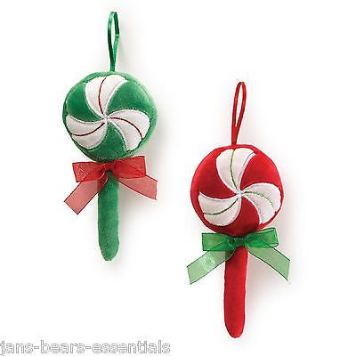 Gund - Lollipop Musical Ornaments - Set of 2 -  6""