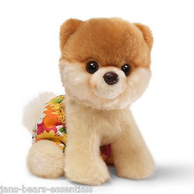 Gund - Itty Bitty Boo Dog in Bathing Suit - 5""