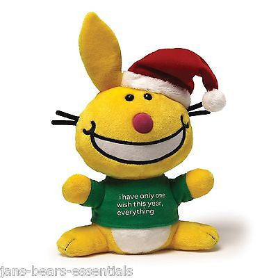 Gund - It's Happy Bunny - Christmas - 10""