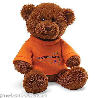 Gund - T-Shirt Bear - Congratulations - 12""