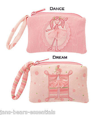 Gund - Twirly Girl Wristlet - Dark Pink - 3""