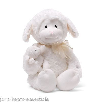 Baby Gund - Nurserytime Lena, Animated Lamb - 10""