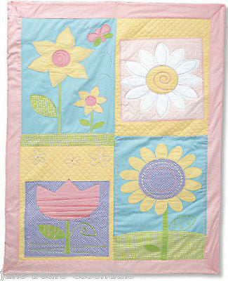 Baby Gund - Happy Moments Multi-Flower Quilt