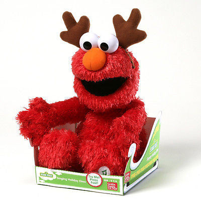 Gund - Sesame Street - Holiday Sing-a-Long Elmo - 14""