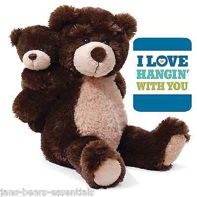 Gund - I Love Hangin' with You Bears - 9""