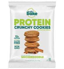 Crunchy Cookies 4 Count (Box of 8) - Snickerdoodle