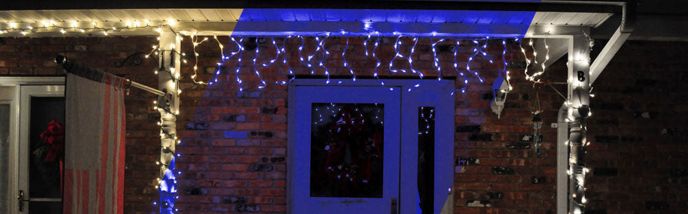 8 Modes Curtain Icicle Lights