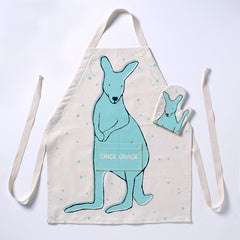 Kangaroo Apron DIY Kit Green