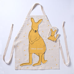 Kangaroo Apron DIY Kit Yellow