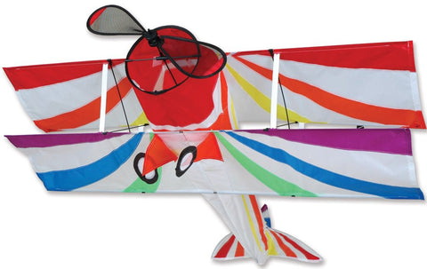 Premier Kites - Rainbow Biplane - Smooth Wind Kites - 1