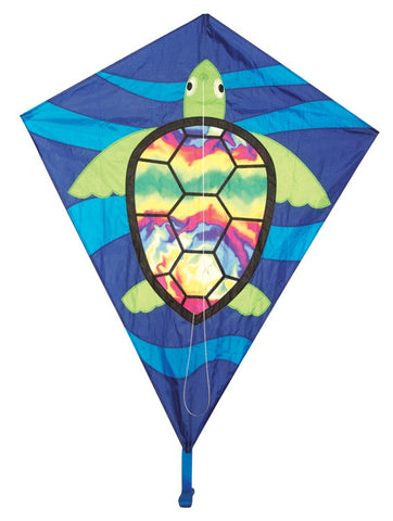 "Skydog Kites - 40"" Sea Turtle Diamond - Smooth Wind Kites - 1"