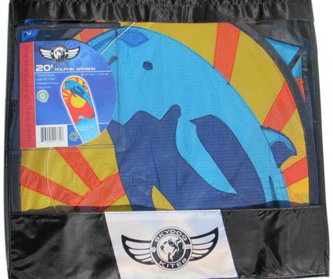 Skydog Kites - 20' Dolphin Dragon - Smooth Wind Kites - 3