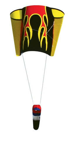 Skydog Kites - Flames Lifter Sled 17 - Smooth Wind Kites