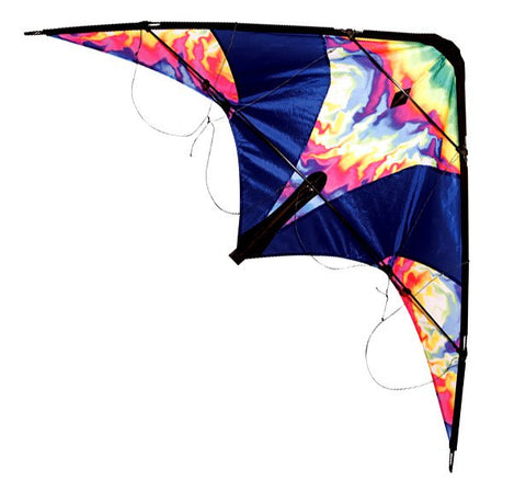 Skydog Kites - Learn to Fly Tie-Dye - Smooth Wind Kites - 1
