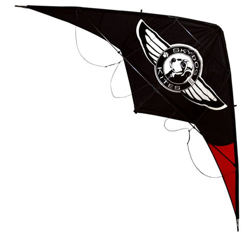 Skydog Kites - Black Dog - Smooth Wind Kites - 1