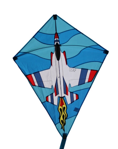 "Skydog Kites - 26"" Jet Diamond - Smooth Wind Kites - 1"