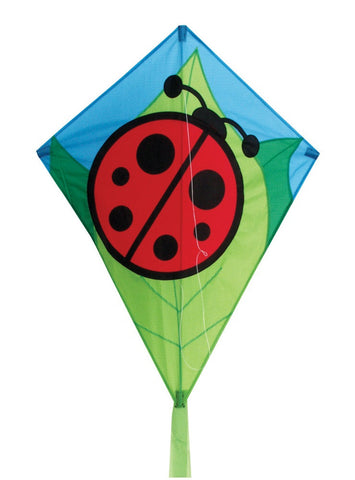 "Skydog Kites - 26"" Lady Bug Diamond - Smooth Wind Kites - 1"