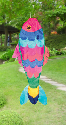 "36"" Damsel Fish Windsock - Smooth Wind Kites"