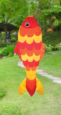 "36"" Goldfish Windsock - Smooth Wind Kites"