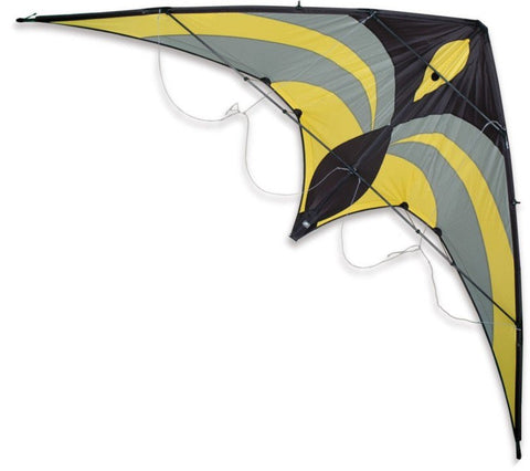 Premier Kites - Widow NG Yellow/Gray - Smooth Wind Kites