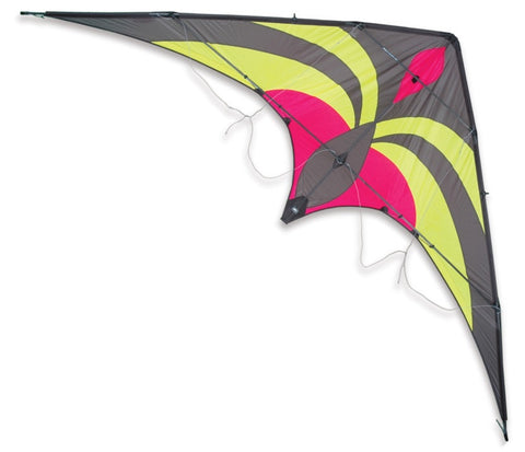 Premier Kites - Widow NG Neon/Gray - Smooth Wind Kites - 1