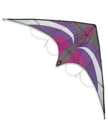 Premier Kites - Widow NG Purple/Gray - Smooth Wind Kites