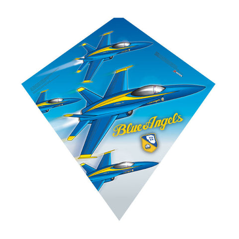 Blue Angels - SkyDiamond® Kite - Smooth Wind Kites