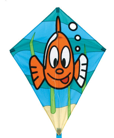 "Skydog Kites - 26"" Fish Diamond - Smooth Wind Kites - 1"