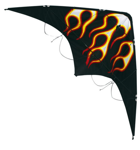 Skydog Kites - Little Wing Flames - Smooth Wind Kites - 1