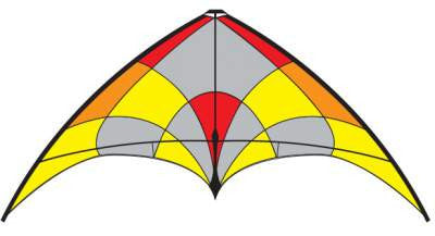 Flying Wings Kites - Alpha+ Fire - Smooth Wind Kites - 1