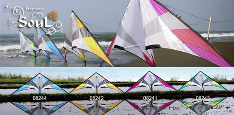 Flying Wings Kites - Soul Std / UL / Vented - Smooth Wind Kites - 2