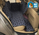 Car Seat for Dogs  Dog Car Seat   Seats 2 Dogs - Backseat Cover for Dogs  Doggy Seatbelt