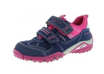 SUPERFIT TRAINERS PINK & NAVY