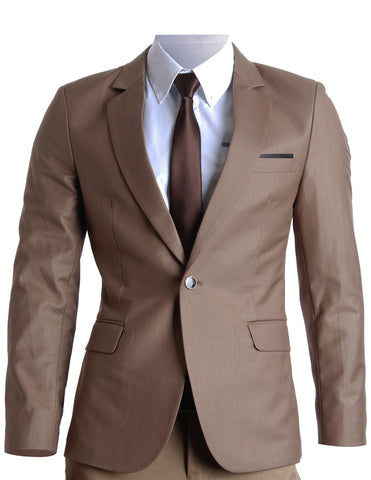 Mens Slim Fit Premium Blazer Suit Jacket (BJ201)