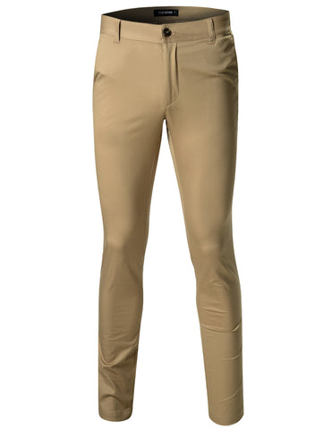 Mens Casual Chino Pants Slim Fit (CH300)